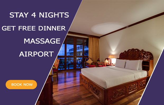 Stay 4 Nights Get Free Dinner + Massage + Airport Pickup